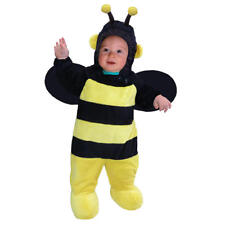 Plush Bumble Bee Halloween Costume Totally Ghoul 6-12 Month Yellow/Black Jumper