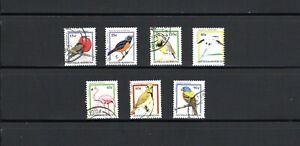 Antigua & Barbuda -- Birds -- 7 diff used from 1995