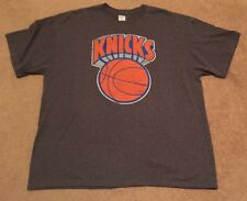 New Men's New York Knicks Hardwood Classic Short Sleeve Tee, Size 2XL, Gray, NBA