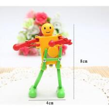 Baby Dancing Robot Wind up Toys Children Funny Creative Clockwork Kids 6n