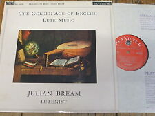 RB 16281 The Golden Age of English Lute Music / Bream GROOVED O/S