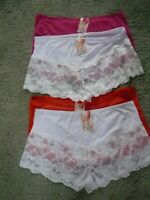 ladies French knickers 4 colours left sizes 18 to 26 last few