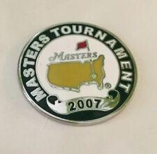 2007 Augusta National Masters Golf Ball Marker Brand New In Original Case