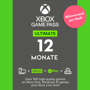 XBOX Game Pass ULTIMATE ✅ 12 MONATE ✅ + LIVE GOLD ✅ + EA PLAY ✅ 52x7 Tage ✅ NEU!