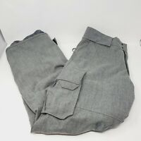 Burton THE WHITE COLLECTION by BURTON Snowboarding Pants Gray SZ SMALL Authentic