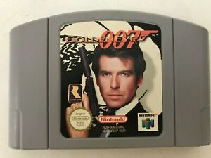 007 GOLDENEYE for The Nintendo 64 N64 Games Console 1st Class Post #34