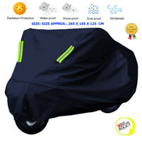 XXL Motorcycle Bike UV Scooter Cover Waterproof Outdoor Rain Motorbike Protector