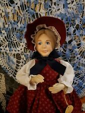 Beautiful Faith Wick Vinyl And Cloth Doll From Haunted Estate