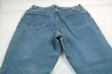 "Wrangler Women's 32W, 30L, 12"" Rise Relaxed Tapered Denim Jeans #T391"