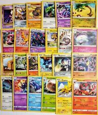 Pokemon Card Lot 50 Official Cards Guaranteed 5 Rare & Holos No Duplicates Nm+