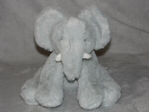 TESCO GREY ELEPHANT SOFT TOY F&F COMFORTER DOUDOU FLORENCE FRED