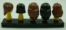 ☀️NEW LEGO Minifigure Minifig Hair Pack of 5 - Female Hair Pieces women girl