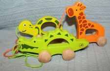 Wooden Pull toys Montessori Set of 3