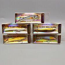 5pcs Fishing lure Exported Baits 7.5cm/3.2g Mini Minnow Lures 6 color Crankbaits
