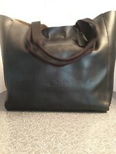 NWOT Coach Hudson Yards NYC Headquarters Limited Edition Black Leather Tote
