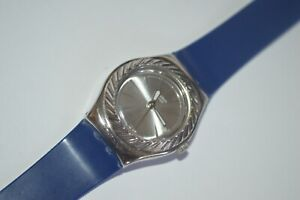 Swatch Irony Watch YSS215 TURNING FOOL 2007 Lady Quartz Swiss Stainless Steel