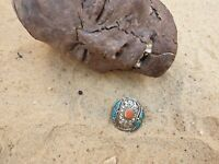 Rare Antique Ancient Egyptian Silver Ring precious Stone Silver Ring 2480 BC