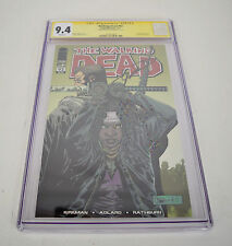 Walking Dead 92 Image 2011 9.4 CGC SS Signed Robert Kirkman 1st Jesus
