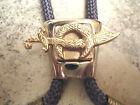 Vintage Freemason Scimitar Crescent Bolo Tie