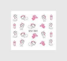 Nagelsticker Fingernägel Aufkleber Tattoo Nail Art Katze STZ 001
