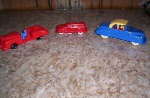 3 RENEWAL PLASTIC CARS