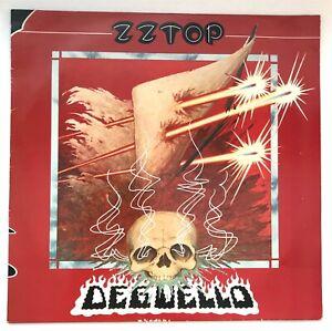 ZZ TOP Deguello WARNER BROS K56 701 EUROPE PRESS 1979 VINYL LPEX