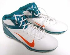 NEW Nike Alpha Talon Elite 3/4 NFL  Football Cleats 534769-117 Miami Dolphins 16