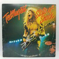 Ted Nugent State of Shock Vinyl LP Record Album FE 36000
