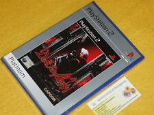 DEVIL MAY CRY  il primo! X PLAYSTATION 2 PS2 NUOVO SIGILLATO uff. ITALIA PLAT. 1