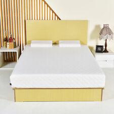 Queen Size 10 Inch Memory Foam Mattress Pad Bed Topper W/2 Contoured Pillows