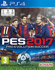 Pro Evolution Soccer PES 2017 (Calcio) PS4 Playstation 4 IT IMPORT KONAMI