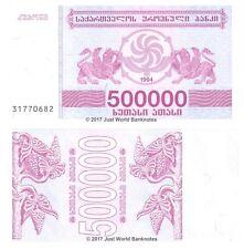 Georgia 500000 Laris 1994 P-51 Banknotes UNC