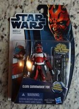 Clone Commander Fox 2012 STAR WARS The Clone Wars Saga CW18 TCW MOC