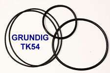 SET BELTS GRUNDIG TK 54 REEL TO REEL EXTRA STRONG NEW FACTORY FRESH TK54