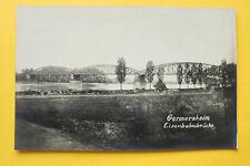 Foto Karte AK Germersheim 1910-20 Eisenbahnbrücke Brücke Stahlkonstruktion ++ RP