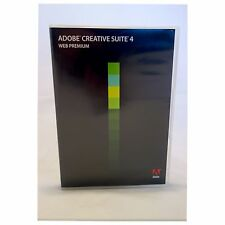 Adobe Creative Suite cs4 Web Premium-MAC-Photoshop, Illustrator