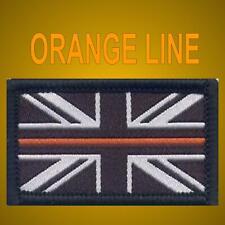 THIN ORANGE LINE BADGE - SEARCH & RESCUE VELCRO® SAR UK