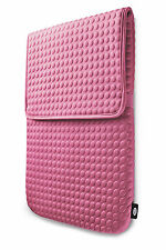 "LaCie COAT Pink 17"" Macbook Pro Sleeve Design by Sam Hecht 130929 NUOVO NEW NEU"