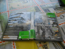 Crysis 2 Platinum Hits (Microsoft Xbox 360, 2013) limited ed.