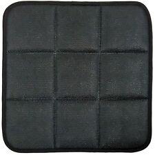 Negro carbón de bambú Cubierta Cojín Asiento Transpirable Pad Mat Para Coche Silla de oficina