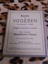 Karte der Vogesen, 1:50000 - 1909