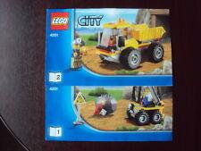 Lego figurine city mineur grubenhelm cty311 30152 4201 4202 4204