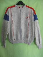 Sweat Puma Vintage Gris Made in France 70'S Tracksuit jersey - 2 / S