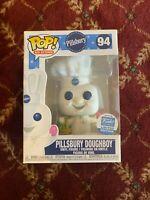 ON HAND Pillsbury Doughboy W// Easter Basket #94 FunkoShop Exclusive Pop MINT!
