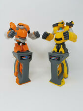 LOT of 2 Transformers Battle Masters Fight Robots Rockem Sockem Toy 2013 Hasbro