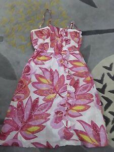Mantaray  pink strappy dress size 10 💕