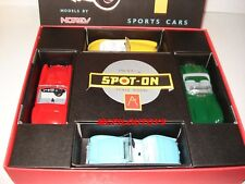 NOREV SPOT ON COFFRET 4 VOITURES TRIUMPH JAGUAR AUSTIN HEALEY & MGA au 1/42°