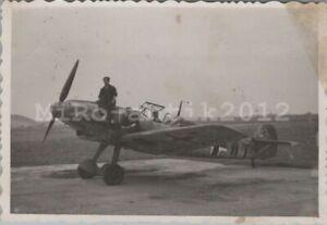 Foto, Wk2,  Messerschmitt Bf 109, Jagdflugzeug (N)50201