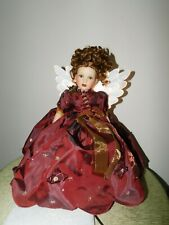 Marie Osmond Tree Topper Angel of 2003 Fiber Optic Euc!