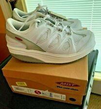 MBT SPORT 2 WALKING SHOES WHITE~SIZE 8~SWISS TONING ANTI SHOE~BRAND NEW IN BOX